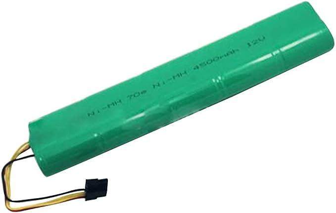 Zantec batería 4500 mAh 12 V Ni-MH Cleaner para Aspirador Neato ...