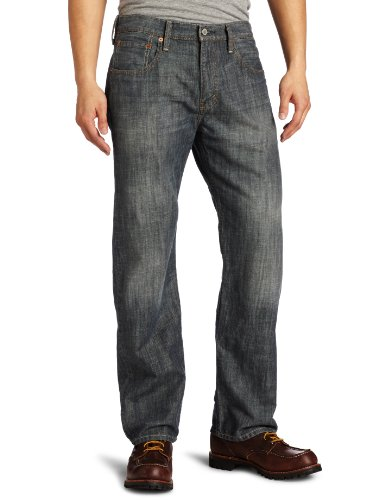 Levi's Men's 569 Loose Straight Leg Jean, Static, 33W x 32L