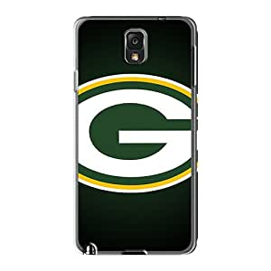 Top10cases Samsung Galaxy Note 3 Best Hard Cell-phone Cases Customized High Resolution Green Bay Packers Skin [yPx194nzNV]