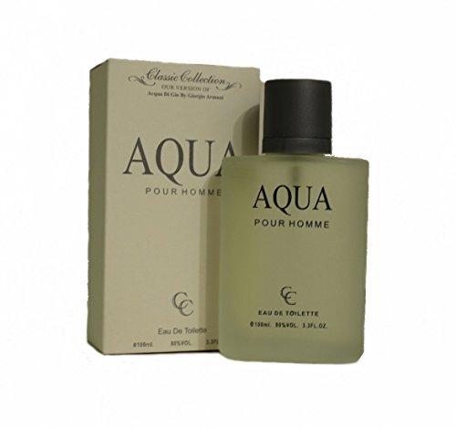 Acqua Di Gio Pour Homme Mens Perfume Eau De Toilette 100ml/3.3oz (Acqua Di Gio 100 Ml)