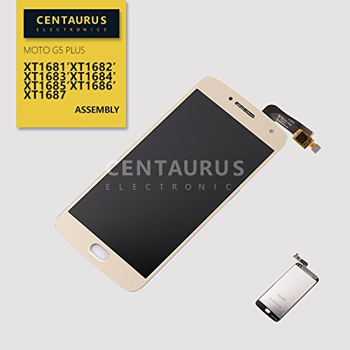 Mobile Phone Accessories 2 Color For Motorola Moto G5 Plus Xt1686 Lcd Display Screen Touch Digitizer Cellphones & Telecommunications