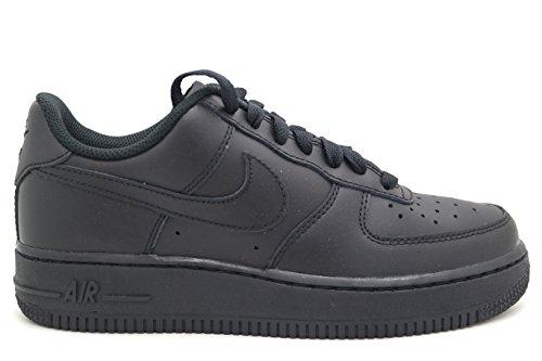 Nike Air Force 1 (Kids) Black/Black-Black