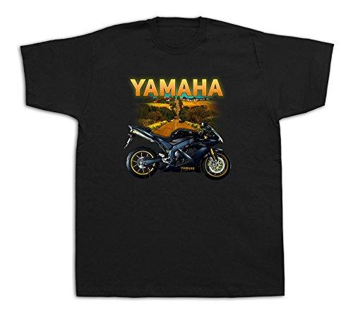Motorcycle yamaha r1 motorbike Hot Rod Tshirts Highway Bike YZF Fairing Cartoon