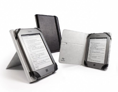 Tuff-Luv 'Book-Stand' case cover for Sony Reader PRS-T1 T2 / Pocketbook 611 / 613 & Touch 622 / Bookeen Cybook Odyssey / Trekstor Pyrus / 6