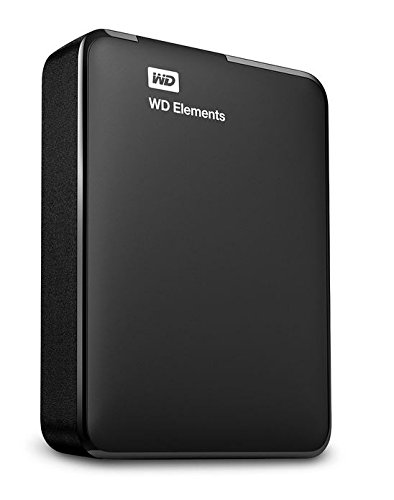 WD 2TB Elements Portable External Hard Drive - USB 3.0 - WDBU6Y0020BBK-EESN