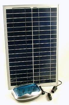 20 Watt Solar Battery Charger for AAA, AA, C, D 9V Batteries