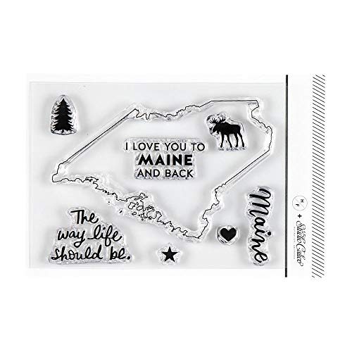 - Studio Calico I Love Maine Clear Stamp Set