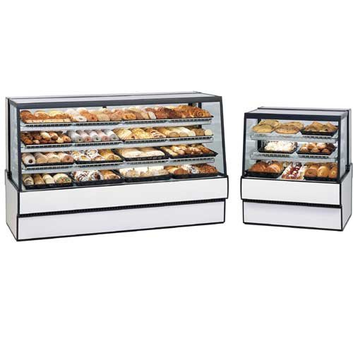 Federal SGD3648 Display Case, Sloped Glass, Bakery, Non-Refrigerated, 36'' Long x by Federal