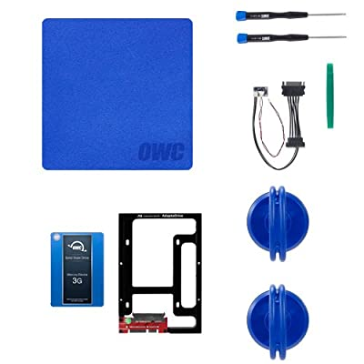 OWC 3G SSD and HDD DIY Complete Bundle Upgrade Kit for Late 2009-2010 iMacs