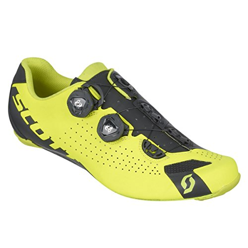 Scarpe Da Ciclismo Scott Shoe Road Rc (43, Giallo Neon / Nero)
