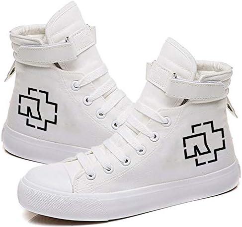 1 Pcs Unisex Mujer Rammstein para Mujer para Hombre Zapatillas ...