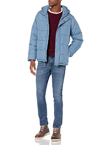 Amazon Essentials Men's Heavyweight Hooded Puffer Coat