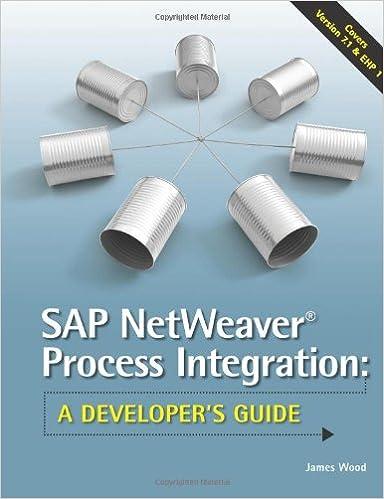 SAP NetWeaver® Process Integration