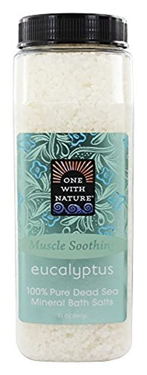 One With Nature Eucalyptus Bath Salt, 32 Ounce -- 1 each. by One With Nature