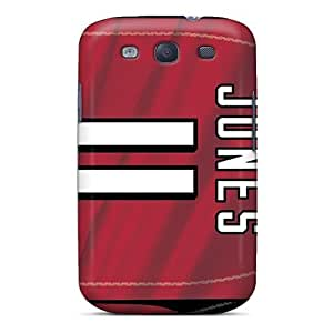 PhilHolmes Samsung Galaxy S3 Great Hard Phone Case Support Personal Customs Beautiful Atlanta Falcons Skin [wWS12136NDwv]