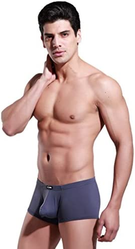 ONEFIT Mens Ice Silk Underwear Triangle Solid Underpants