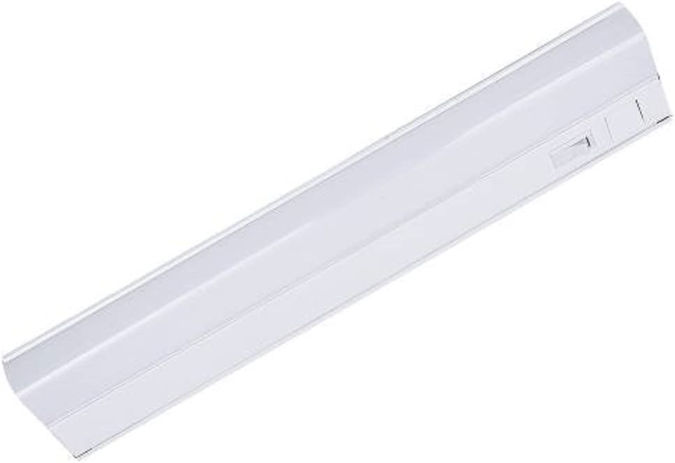 Under Cabinet LED Lighting ETL ENERGY STAR Listed, Matte White Finish, 18 Inch 3000K