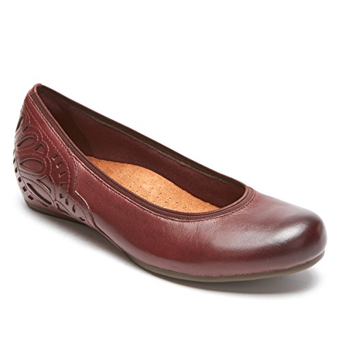 Rockport Cobb Hill Collection Women's Cobb Hill Sharleen Pump Merlot Leather 6.5 B US - Hills Merlot