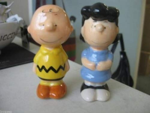 (Peanut's Charlie Brown & Lucy S/P Salt and Pepper Set by Lowpricedstuff)