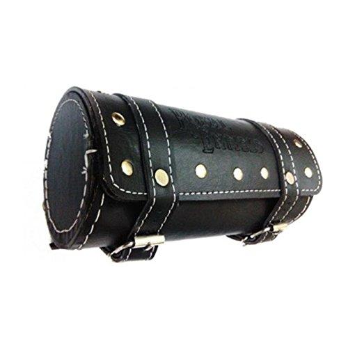 Retina 2755 One-Side Motorcycle Saddlebag (5 L, Black)
