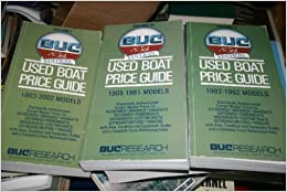 Buc Used Boat Price Guide 2002: 1993-2001 Models