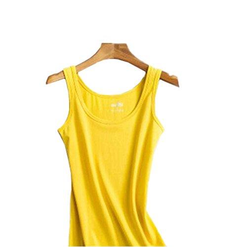 Camiseta sin mangas flaca del chaleco suave de la manera de la camiseta de las mujeres atractivas, # 9