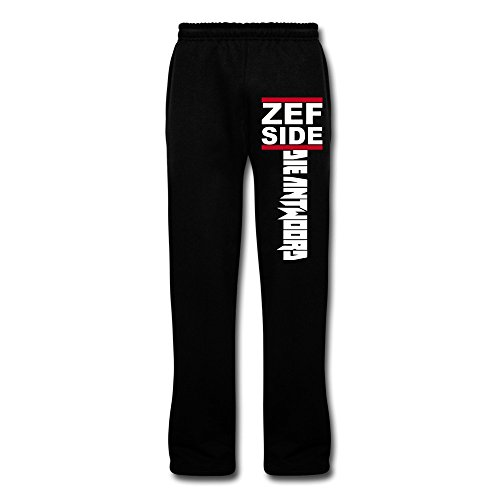 JeFF Men's ZEF SIDE Die Antwoord Cotton Sweatpants Running Pants Lounge Pajama Pants (All Is By My Side Blu Ray compare prices)