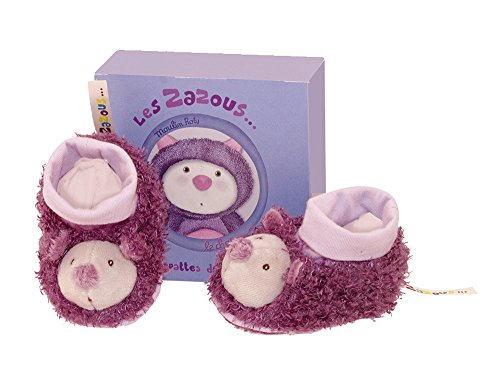 Moulin Roty Les Zazous Cat Baby Slippers
