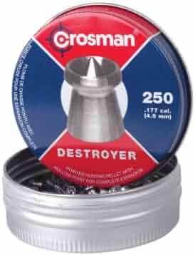 Crosman Destroyer Pellets, .177 caliber, 4.5mm, 250ct