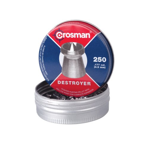 Crosman Destroyer .177 Cal, 7.9 Grains, Pointed, 250ct