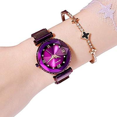 Sky Quartz Ladies Fashion Hamkaw Octagon Watch Starry sthCdrQ