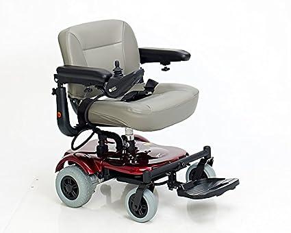 Sedie A Rotelle Pieghevoli Leggere : Teyder sedia a rotelle elettrica pieghevole con ruote posteriori