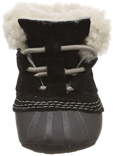 Sorel Unisex Baby Caribootie Stiefel Schwarz (Black, Kettle 010)