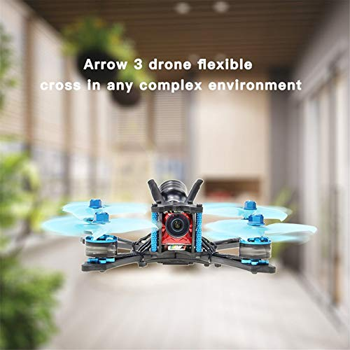 Wikiwand HGLRC Arrow 3 FPV Racing Drone 6S PNP F4 1408 Motor Camera DIY Quadcopters by Wikiwand (Image #7)