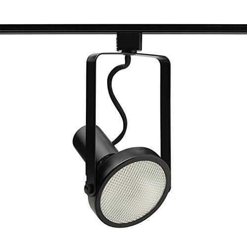 Juno Lighting R534-BL Track Light Line Voltage 120W Max Open Back Spotlight Track Fixture - Black