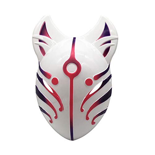 YangYong Fox Style Full Face Cosplay Mask, PVC Large Size Costume Masks