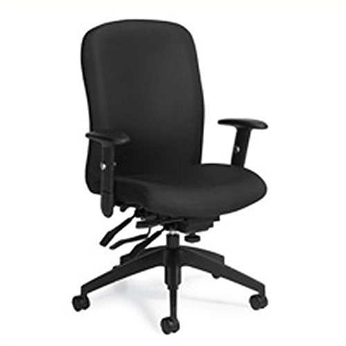 Global Heavy-Duty Truform Multi-Tilter Adjustable Chair, High-Back, 42