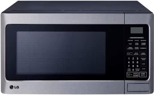 LG LCS1112ST Countertop Microwave Oven, 1000-watt, Stainless Steel