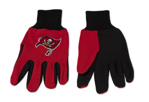 NFL Tampa Bay Buccaneers Two-Tone Gloves, - Tampa In Malls Outlet