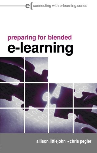 preparing for blended e-learning (Connecting with E-learning)