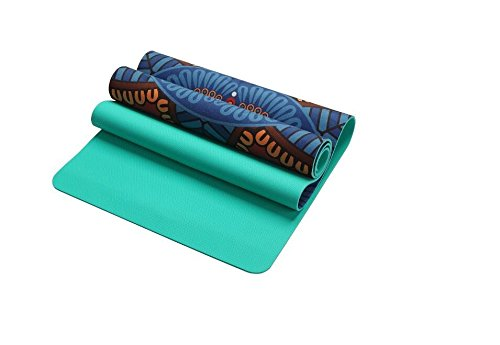 Shi18Sport 5Mm Wildleder TPE Rutschfeste Faltbare Yoga-Matten Für Fitness Yoga Gym Übung Sport Matratze Outdoor Pads Fitness Akupressur Mat