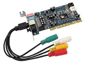 Siig Low Profile PCI 5.1 24bit Dolby Digital/DTS Surround Sound Card - Tarjeta de sonido (PCI)