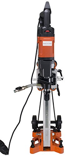 Cayken SCY-18-2EBM 5″ Wet and Dry Core Drill Rig and 200F Stand