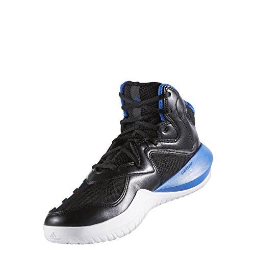 adidas Crazy Team 2017 Schuh Herren Basketball Kern Schwarz-Blau-Solid Grey