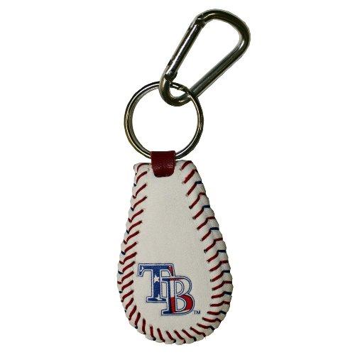 MLB Tampa Bay Rays Stars and Stripes Baseball Keychain