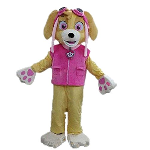 Patrol dog Mascot Costume Character 100% Real Picture Langteng Cartoon (TM)
