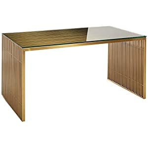 Modway Gridiron Bench, Bookshelf, Dining Table, Office Desk, Console Table, Coffee Table,