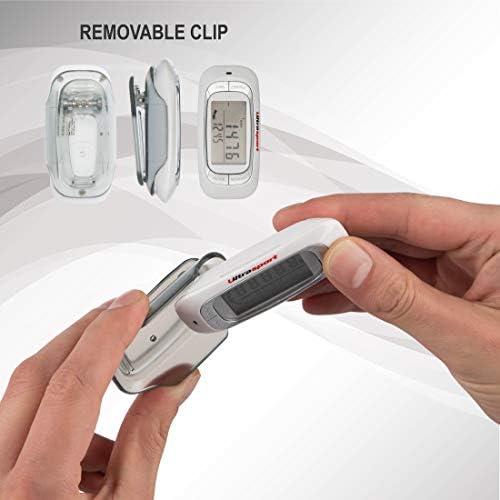 Ultrasport Podómetro 3D, preciso con Monitor LED con indicador de ...