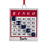 Miles Kimball Personalized Bingo Ornament