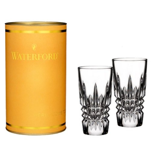 Glass Pilsner Shot (Waterford Crystal Giftology Lismore Diamond Shot Glass, Pair)